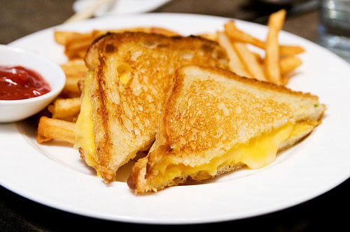 Image result for kids grilled cheese and fries