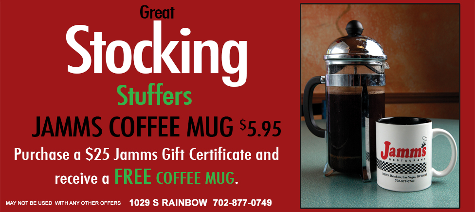 jamms free coffee mug