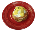 eridka small plate eggs benedict